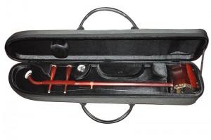 高档二胡盒 高级专用配件 便携式二胡盒 带湿度计二胡盒