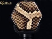 【已售】龙韵特价铜轴黑檀二胡8265 卷珠帘