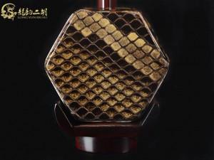 【已售】龙韵高级紫檀二胡8523 青花瓷