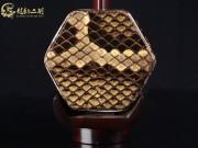【已售】龙韵高级紫檀二胡8623 青花瓷