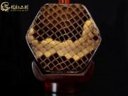 【已售】龙韵高级紫檀二胡8657 青花瓷