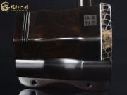 【已售】龙韵特价黑檀二胡8756 琴诗