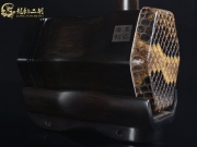 【已售】龙韵特价黑檀二胡8854 卷珠帘