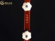 【已售】龙韵高级紫檀二胡8934 青花瓷