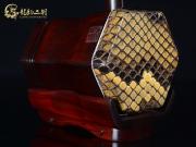 【已售】龙韵高级紫檀二胡9302 金珠马米赞