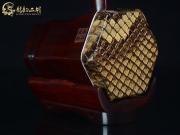 【已售】龙韵高级紫檀二胡9374 喜送公粮