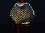 【已售】龙韵高级紫檀二胡9458 兰花花