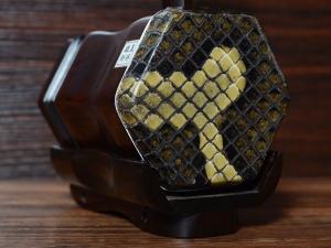 龙韵珍品整筒老红木二胡10089 葡萄熟了