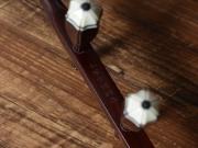 龙韵珍品印度小叶紫檀二胡木质微调轴10585 天山风情