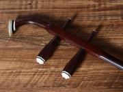 【已售】龙韵珍品印度小叶紫檀二胡木质微调轴10586 第一二胡狂想曲