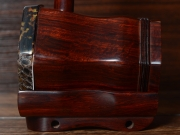 【已售】龙韵珍品纯野生蟒皮印度小叶紫檀整杆二胡 10900 第三二胡狂想曲