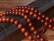 1.2cm印度金星小叶檀长手串 小叶檀珠手链手串 二胡精品余料 保证正品