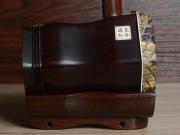 龙韵自然皮整筒老红木二胡 编号:12047 一枝花