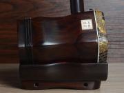 龙韵自然皮整筒老红木二胡 编号:12045 一枝花